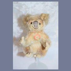 Vintage Koala Bear Steiff Mohair W/ Tag