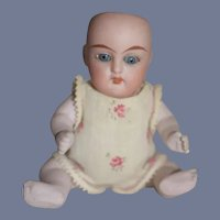 Antique All Bisque Doll Jointed Baby Simon Halbig Kammer Reinhardt