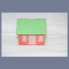 Vintage Miniature Dollhouse Litho 3 inches tall