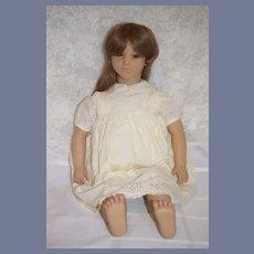 Vintage Doll Annette Himstedt Barefoot Doll Paula In Box w/ COA