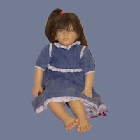 Vintage Annette Himstedt Doll Original Box Coa Wrist Tag World Child Collection Friederike