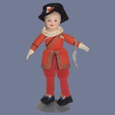 Vintage Doll Norah Wellings Cloth Doll W/ Tag