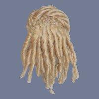Vintage Bramble & Pinegar Mohair Wig for Fashion Doll