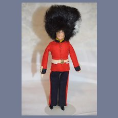 Vintage Beefeater Doll Guard Cloth English