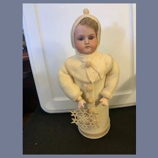 Wonderful Antique Doll Bisque Head Candy Container Artist Doll Betty Bohacz