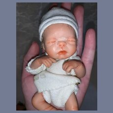 Artist Doll Reborn New Born Miniature Baby