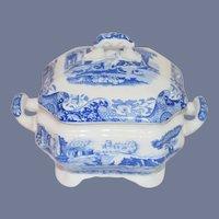 Wonderful Vintage Porcelain Spode Tureen W/ Lid Miniature Petite Size