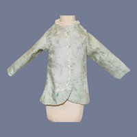 Vintage Fashion Doll Beautiful Light Blue Doll Jacket 7 inches