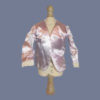 Vintage Purple Satin Doll Fashion Doll Jacket - Lined 8 inches