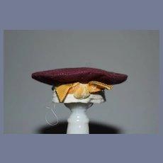 Vintage Petite Doll Hat Bonnet Cap Sweet