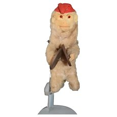 Old Monkey Wind Up Playing Cymbals So Cute