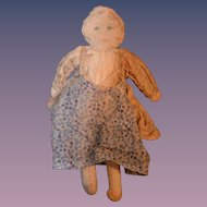 Antique Cloth Rag Doll Unusual
