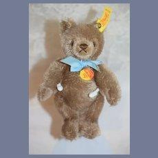 Vintage Teddy Bear Mohair Button Tag EAN 0202/18