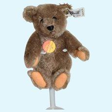 Vintage Teddy Bear Steiff Button Tag EAN 0204/16 Mohair Jointed