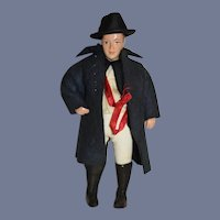 Vintage Character Doll Petite Size Nicely dressed Man Doll
