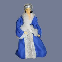 Old Doll Catherine Parr Hand Sculpted Wife of King Henry VIII