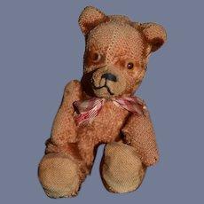 Old Miniature Teddy Bear Jointed Sweet Doll or Bear Companion