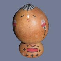 Vintage Japanese Wood Kokeshi Doll