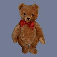 Vintage W. German Hermann Teddy Bear W/ Growler Mohair