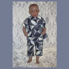 "Vintage Black Artist Doll ""Lamin"" Philip Heath England 1987 Gorgeous"