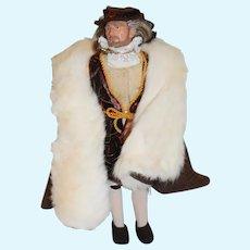Vintage English Historical Doll 12 inchesl