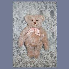Vintage Retired Steiff Teddy Bear Teddy Rose Mohair Jointed W/ Growler