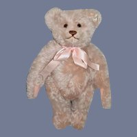 Vintage Retired Steiff Teddy Bear Teddy Rose Mohair Jointed W/ Growler