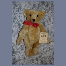 Vintage Steiff Teddy Bear W/ Button Tag EAN 0166/35 Margarete Steiff Tags Mohair