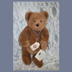 Vintage Boyds Teddy Bear 100 Year Anniversary Signed W/ Diary