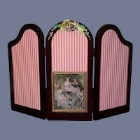 Sweet Doll Bear Screen W/ attachments Vanderbear Wood