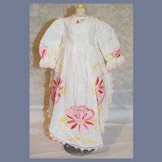 Sweet Doll Dress Fancy Embroidery Sweet Lace Trim