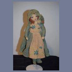 Old Cloth Doll  Unusual