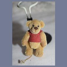 Vintage Artist Winnie The Pooh Teddy Bear Cubby B 1994 Miniature Jointed Too Cute