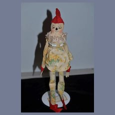 Old Cloth Pinnochio Doll Character