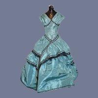 Fancy Doll Dress Tafata Fancy Fashion Doll Jet Beads