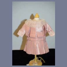 Vintage Hand Made Doll Dress Pretty in Pink French Market