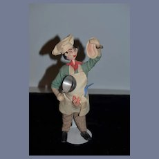 Vintage Doll Cloth Klumpe Chef Character