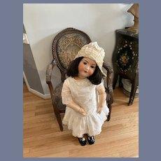 "Antique Doll Bisque Huge RARE 37"" SUR Ernst Heubach Koppelsdorf Gorgeous"
