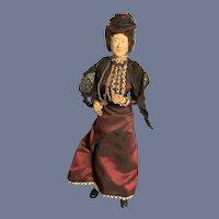 Vintage Doll Artist Iris Britton English Lady Doll Shop Keeper Signed