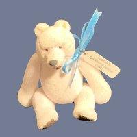 Wonderful Miniature Vintage Artist Teddy Bear April  Whitcomb Gustafson W/ Tag Dollhouse
