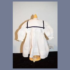 Vintage Doll Dress Sailor Dress Hand Made Sandcastle Creations Sweet
