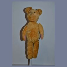 Old Teddy Bear Button Eyes Jointed  Adorable