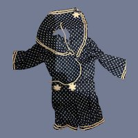 Vintage Doll Sailor Jumper W/ Flap Collar