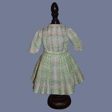 Sweet Vintage Doll Dress Pleated Skirt