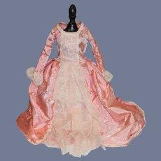 Vintage Doll Dress Fashion Doll Gorgeous