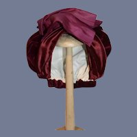 Vintage Doll Velvet Fancy Bow