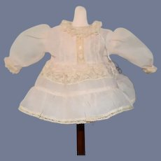 Sweet Doll Dress For Petite Doll Lace Trim