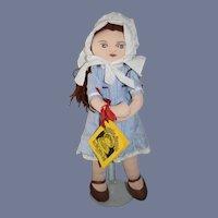 Sweet Cloth Doll Maggie Bessie W/ Tag