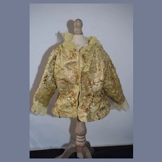 Vintage Doll Jacket Lace Collar Sequins Fancy