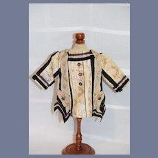 Vintage Doll Jacket Fancy French Market